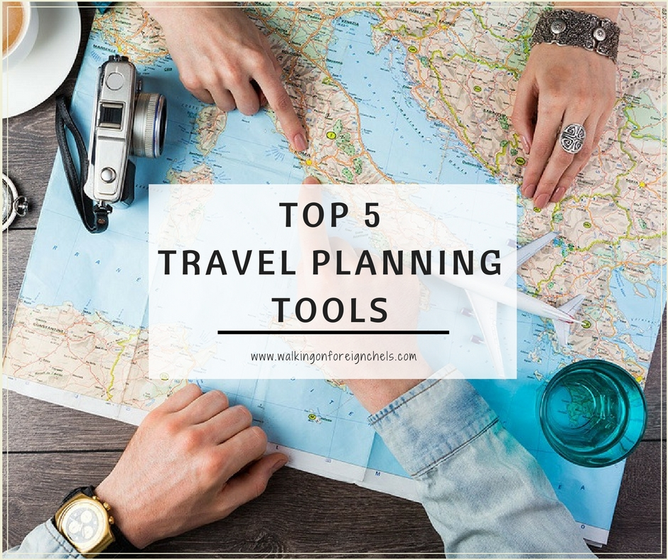 Top 5 Travel Planning Tools